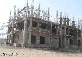 Bahria Town Karachi Apartments Work Going ON