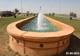Bahria Town Karachi Beautiful Fountains