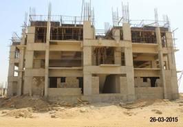 Bahria Town Karachi Hospital work Construction in Progress