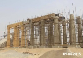 Bahria Town Karachi Monuments Under Construction
