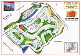 Bahria Town Khalid Block Map