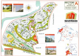 Bahria Town Phase 8 Sector A Map