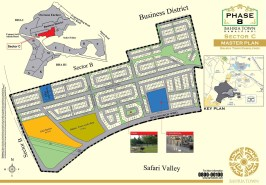Bahria Town Phase 8 Sector C Map