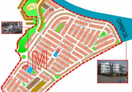 Bahria Town Phase 8 Sector M Map