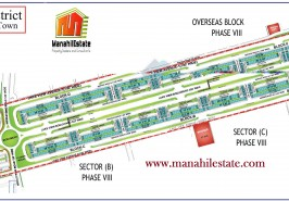 Business District Commercial Bahria Town Rawalpindi Map