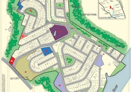 Safari Villas 1 Bahria Town Rawalpindi Map