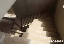 Stairs on Under Construction Home bahria town karachi