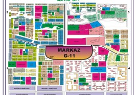 Sector G-11 Islamabad Map