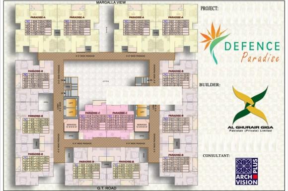 Defence Paradise Floor Plan