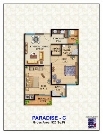 Defence Paradise C