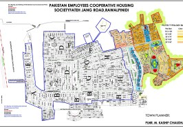 PECHS Islamabad Full Map