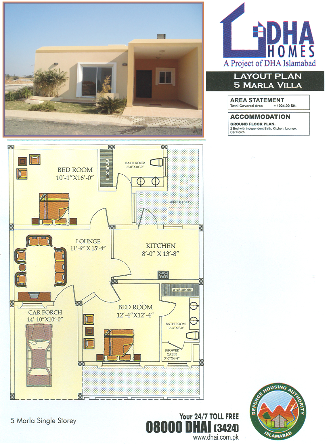 5 Room Floor Plan Dha Homes Islamabad Location Layout Floor Plan And Prices