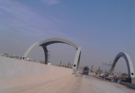 Quaid e Azam Bridge over Korang River on Gulberg Expressway