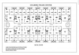 4th and 5th Floor Plan Gulberg Trade Center