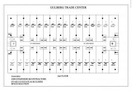 Second Floor Plan Gulberg Trade Center