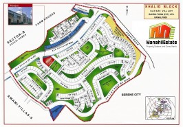 Bahria-Town-Khalid-Block-Map