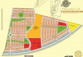 Bahria Town Karachi Precinct 23 Map