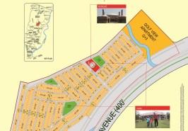Bahria Town Karachi Precinct 27A Map