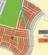 Bahria Sports City Karachi Precinct 34 Map