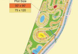 Bahria Sports City Karachi Precinct 37 Map