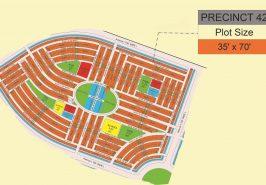 Bahria Sports City Karachi Precinct 42 Map