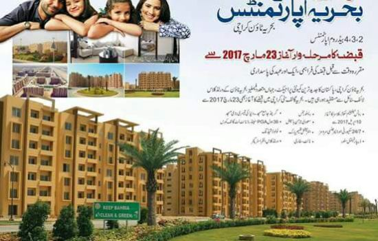 Bahria Apartments Karachi Precinct 19 Possessions