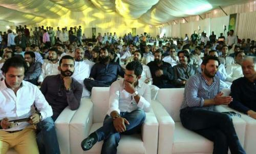 Ground Breaking Ceremony of Rafi Cricket Stadium Bahria Sports City Karachi