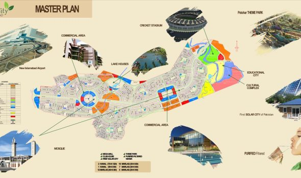 Green City Islamabad Layout Map