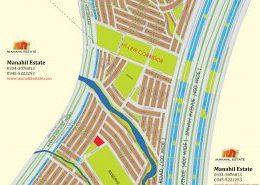 Bahria Town Karachi Precinct 26A Map
