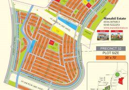 Bahria Town Karachi Precinct 32 Map