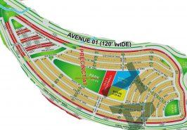 Bahria Paradise Karachi Precinct 47 Map