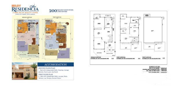 ARY-Residencia-Floor-Plan-Layout Plan