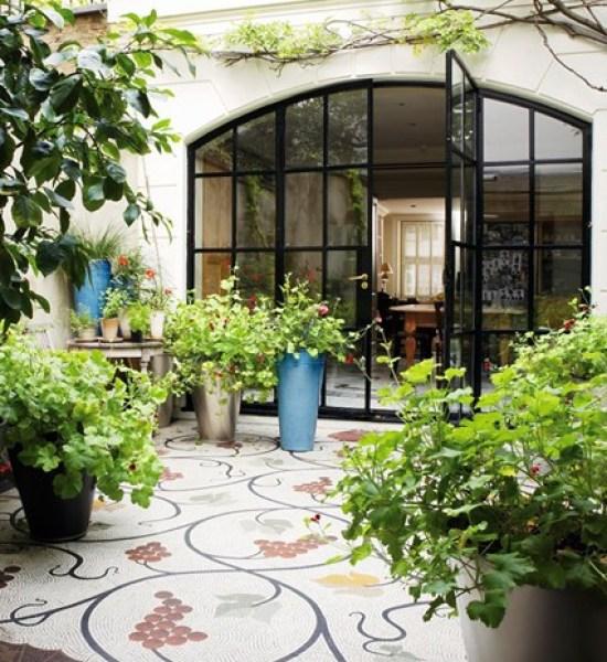 Beautiful Floor Design Stylish Look