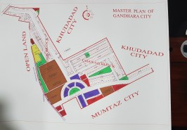 Ghandara City Islamabad Map