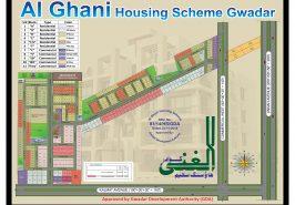 Master Plan of Al-Ghani Housing Scheme Gwadar