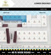 Lower Ground Shops Map