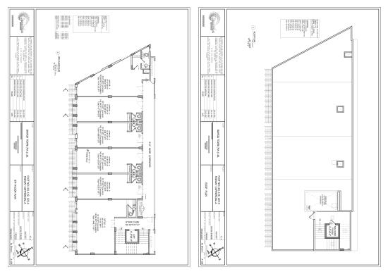 SQ Trade Center-8th and Roof Plan