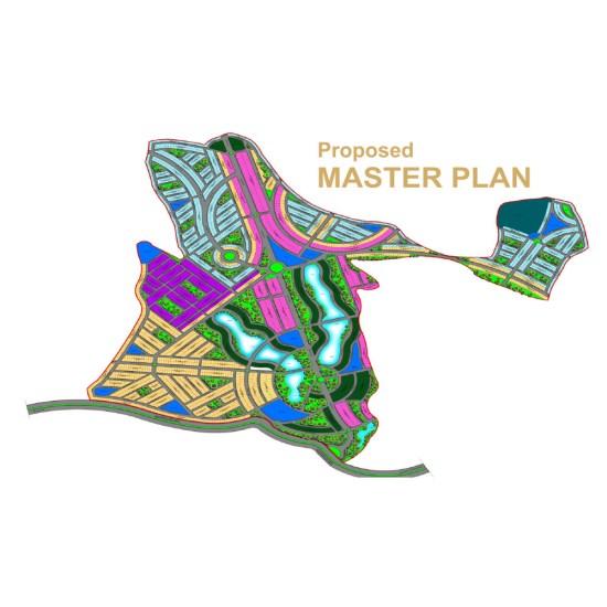 Blue World City Proposed Master Plan