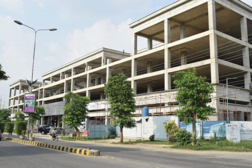 Goldcrest Mall and Residency Current Development