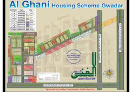Al-Ghani Housing Scheme Gwadar Map