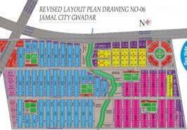 Jamal City Gwadar Map