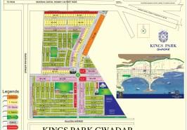 Kings Park Gwadar Map