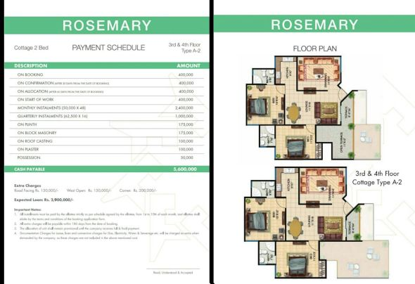 Rosemary-Cottages 2 Bed Type A-2