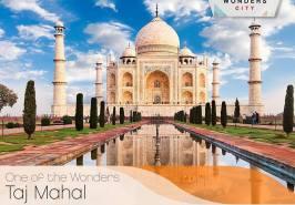 Taj Mahal Seven Wonders City Karachi