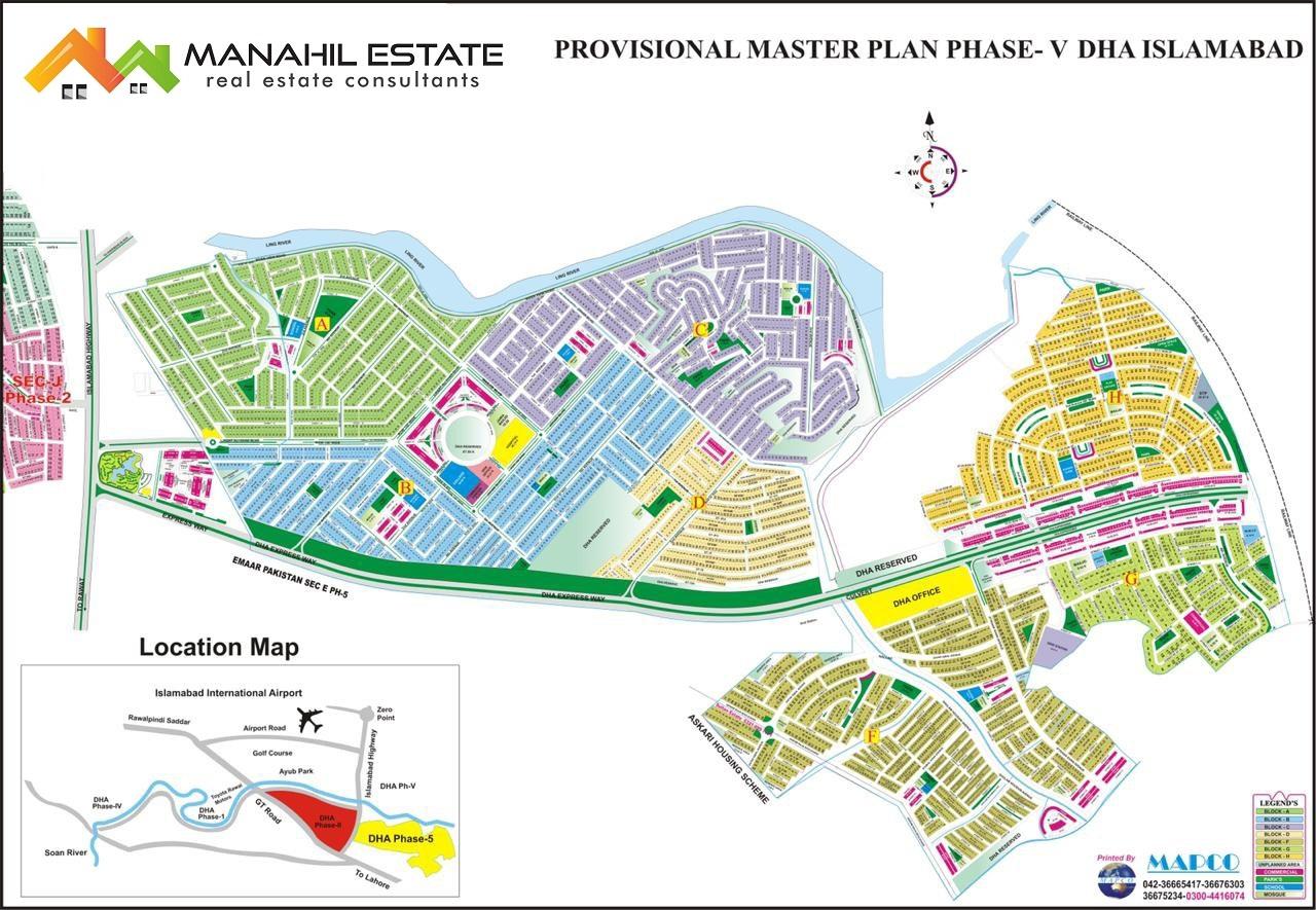 DHA Phase 5 Master Plan