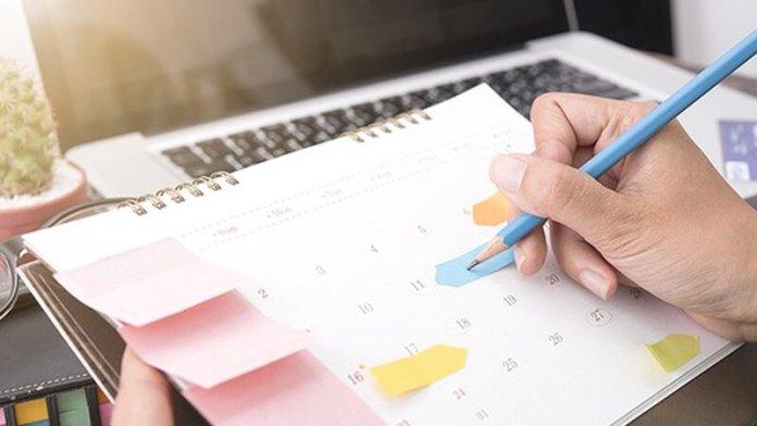 Buatlah jadwal rutinitas dan lakukan