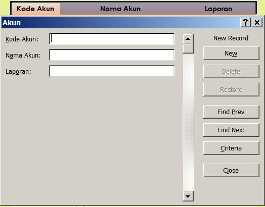 Form Input Excel