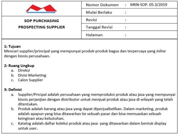 Contoh SOP Purchasing -2