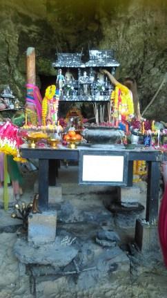 Phallus Shrine at Phra Nang beach