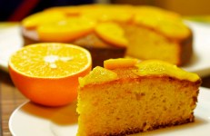 Bizcocho de Naranja (Orange Pound Cake), Spanish style
